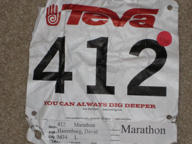 Cross Timbers Race Number