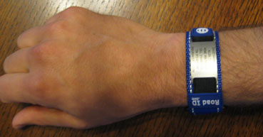 Wrist ID from above.