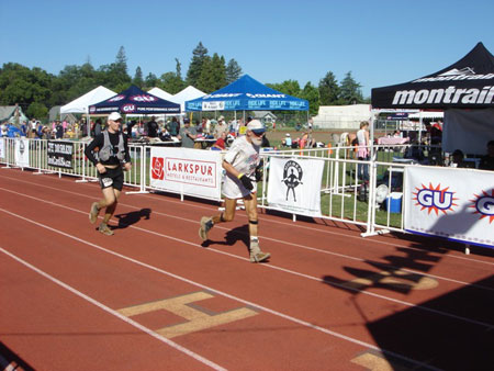 Ian, wisest Western States 100 finisher in 2010!