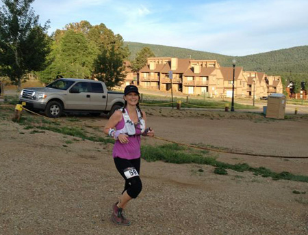 Test driving at New Mexico's Angel Fire Trail Run