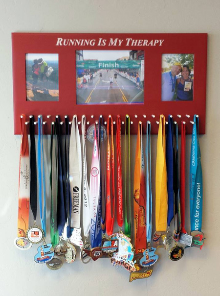 4 Cool Ways To Display Your Race Medals