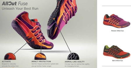Merrell All Out Fuse Women's Trail Running Shoe Review