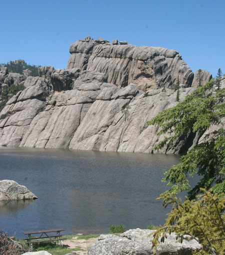 A walk around Sylvan Lake in the Black Hills.