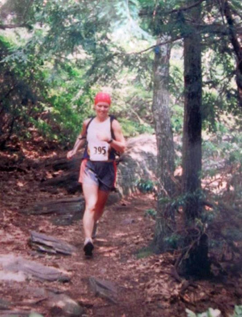 First REAL trail race, Escarpment 30k, featuring 10,000 feet of elevation change in Catskills, NY (circa 2003)